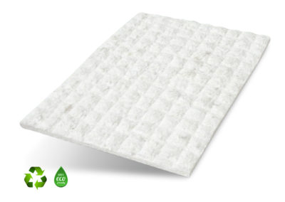 THERMOBONDED HARD FELT WHITE